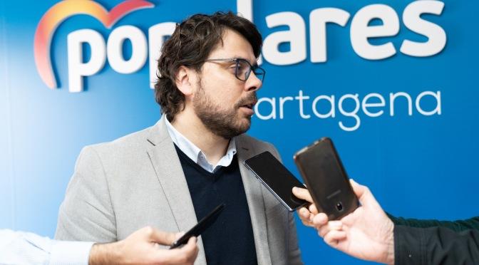 """Valdés: """"El PSOE ofende dos veces a los vecinos del Mar Menor por dudar de su independencia después de abandonarlos"""""""