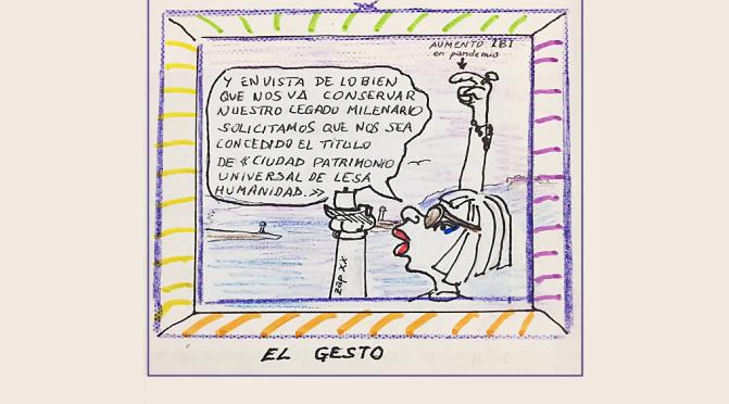 """Humor Gráfico By ZAP XIX -""""El Gesto"""" (9)"""