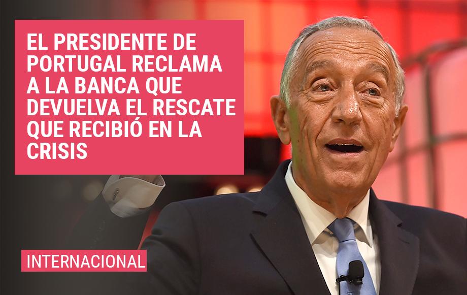 Portugal Pedirá a la Banca que Devuelva el Rescate que Recibió