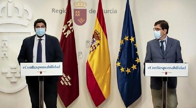 La mascarilla es obligatoria, bajo multa de 100 euros, en la Región de Murcia
