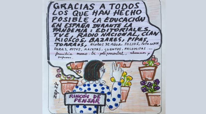 """El Rincón de Pensar"" By ZAP XIX"