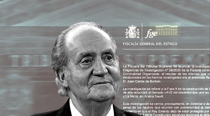 """""""El Rey Emérito, Los Corruptos y Las Cajas de Ahorros, Ahora Bancos"""""""