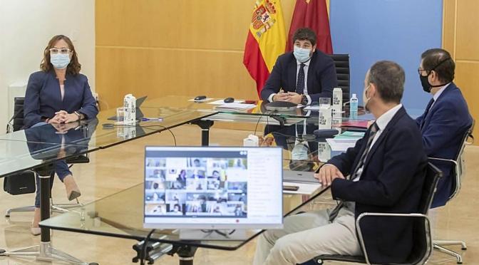 La región de Murcia declarará el toque de queda entre las 23:00 y las 6:00 horas