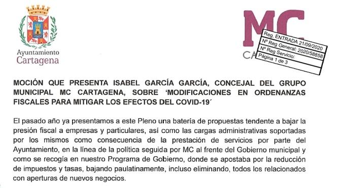 El Gobierno se retracta y asume las propuestas de MC para reducir la presión fiscal sobre comerciantes y particulares