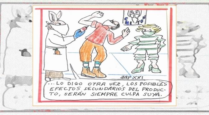 """CHITÓN"" – Humor Gráfico By ZAP XXI"