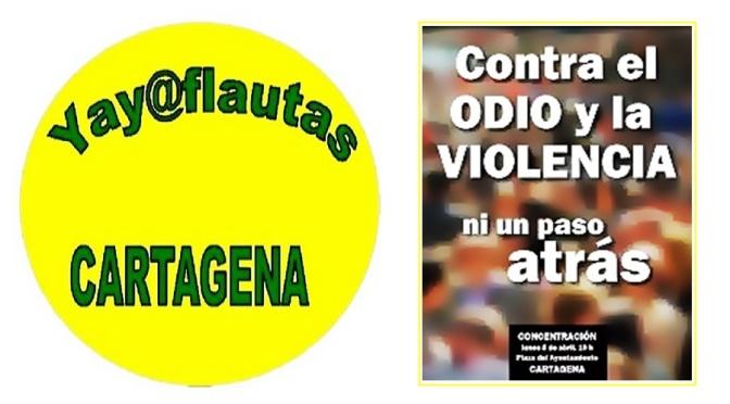 """""""CONTRA EL ODIO Y LA VIOLENCIA, NI UN PASO ATRÁS"""""""