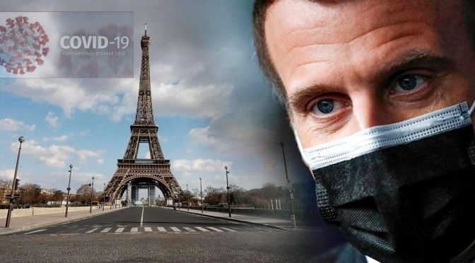Emmanuel Macron confina toda Francia durante un mes