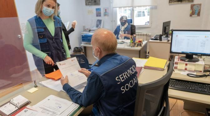 Servicios Sociales tramita más de 1.300 ayudas a familias vulnerables en los cinco primeros meses de 2021
