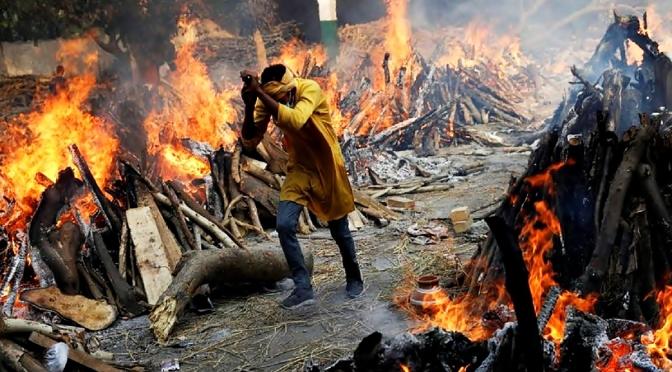 La devastación en la India supera los 20 millones de contagios por coronavirus