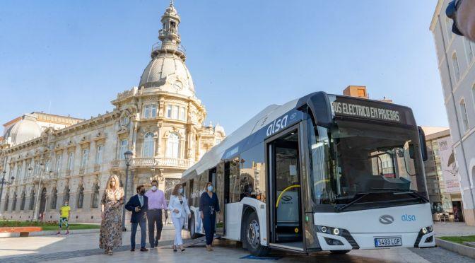 Cartagena: experiencia piloto del primer autobús 100 por cien eléctrico