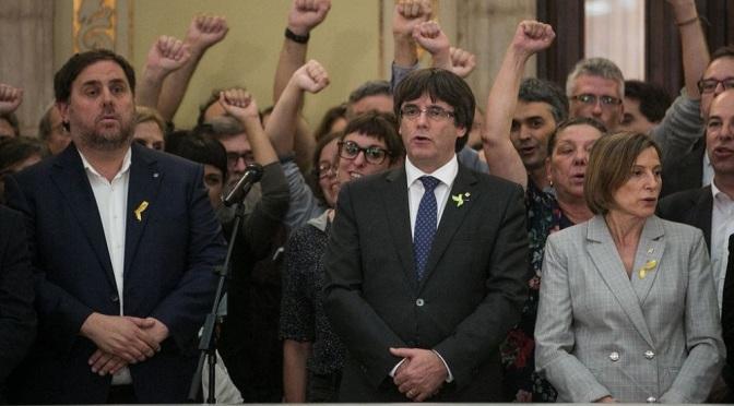El Tribunal de Cuentas reclama 1,9 millones a Junqueras y a Puigdemont