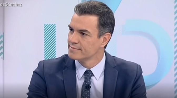 PEDRO SANCHEZ, UN EMBUSTERO, UN TRAIDOR PARA LA HISTORIA DE ESPAÑA
