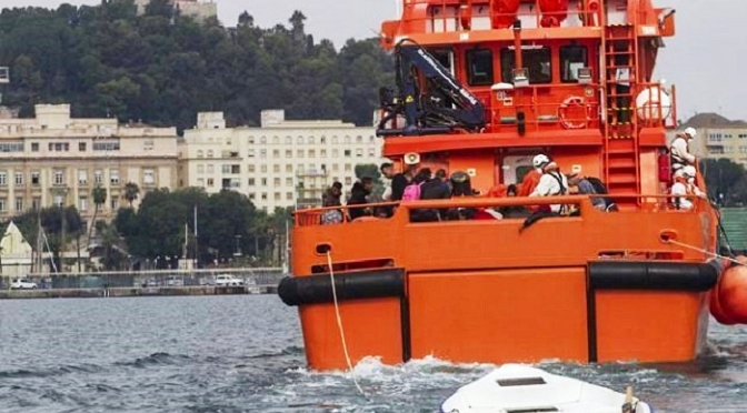 Guardia Civil y Salvamento Marítimo interceptan a 162 inmigrantes irregulares