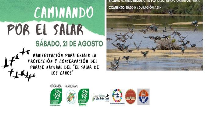 Almería: Manifestación para la protección de El Salar de los Canos este sábado 21