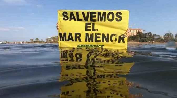 Una solución URGENTE para el Mar Menor.
