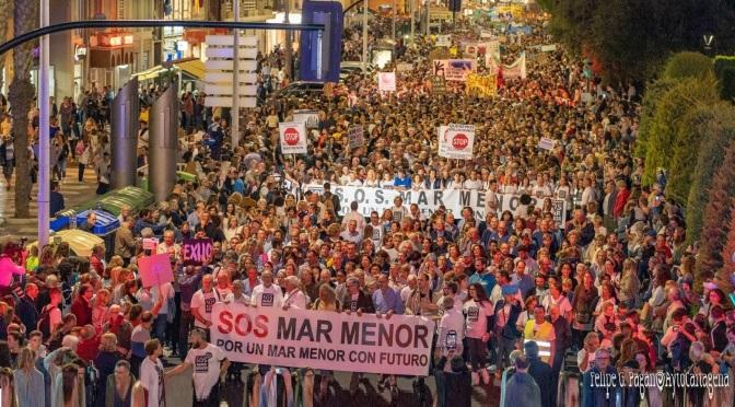 La alcaldesa de Cartagena traslada al Comisario Europeo la urgencia del Mar Menor