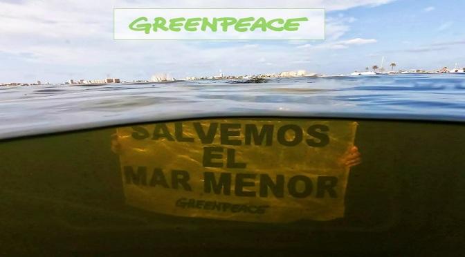 GREENPEACE: Firma para detener el ecocidio del Mar Menor
