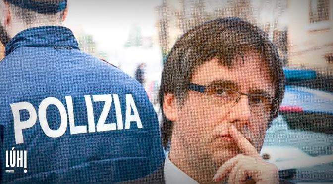 Puigdemont detenido en Cerdeña