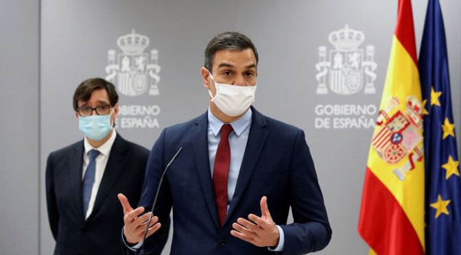Las compras opacas del Gobierno de Sánchez