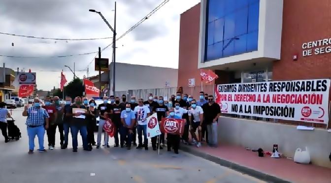 """Agentes de la Policía Local de Las Torres de Cotillas se concentran ante """"el ninguneo del alcalde a sus derechos laborales"""""""